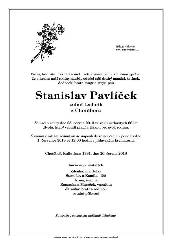 Pavlicek Stanislav
